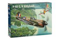 Maquette avion militaire : P‐40E/K Kittyhawk - 1/48 - Italeri 02795, 2795