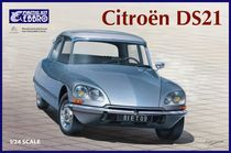 Maquette voiture de collection : Citroën DS21 - 1/24 - Ebbro 25009