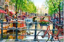 Puzzle Ville Amsterdam - 1000 pièces - Castorland 103133