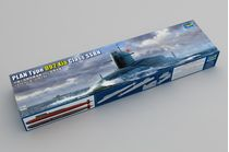 Maquette sous-marin militaire : PLAN Type 092 Xia Class Submarine - 1:144 - Trumpeter 05910 5910
