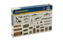 Accessoires de maquettes : Equipements & Armement Alliés - 1/35 - Italeri 407