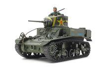 Maquette militaire char américain M3 Stuart fin de production - 1/35 - Tamiya 35360