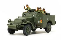 Maquette véhicule militaire : M3A1 Scout Car - 1/35 - Tamiya 35361