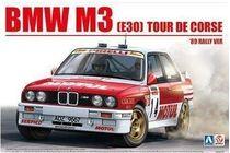 Maquette voiture : BMW M3 (E30) Tour de Corse 1989 1:24 - Beemax 24016
