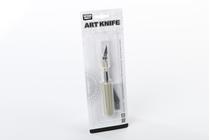 Outillage pour maquettes en bois : Cutter avec poignée et 4 lames - AMATI 07492 7492