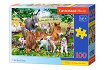 Puzzle Animaux de la ferme - 100 pièces - Castorland 111138