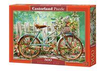 Puzzle Vélo Fleuri - 500 pièces - Castorland 52998