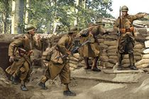 Figurines militaires : Infanterie Française Sedan 1940 - 1/35 - Dragon 06738 6738