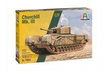 Maquette militaire : Churchill Mk.III - 1:72 - Italeri 07083 7083