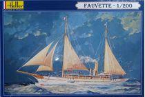 Maquette bateau : Voilier Fauvette - 1/200 - Heller 80612