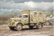 Maquette militaire : Opel Blitz - 1/35 - Italeri 6575 06575 - france-maquette.fr