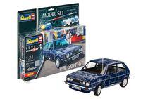 Boîte maquette voiture : Model Set VW Golf Gti - 1:24 - Revell 67673