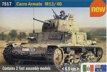 Maquette de Char d'assaut Italien  - Italeri 07517