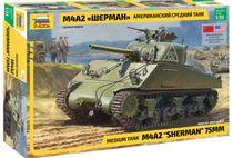 Maquette militaire : M4A2 Sherman - 1/35 - Zvezda 3702 03702 - france-maquette.fr