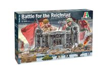 Diorama militaire : Berlin 1945 : Conquête du Reichstag - 1/72 - Italeri 06195 6195