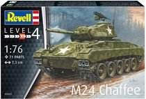 Maquette militaire : M24 Chaffee - 1:76 - Revell 03323, 3323