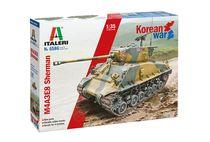 Maquette militaire : M4A3E8 Sherman Guerre de Corée - 1:35- Italeri 6586 06586