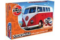Quick Build - Maquette voiture : Volkswagen Camper Van - Airfix J6017