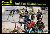 Figurines militaires : Milice du Moyen Orient - 1/72 - Caesar 00101