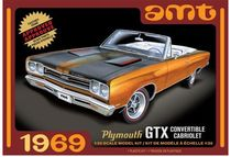 Maquette AMT - 1969 Plymouth GTX Convertible 1/25 -AMT 1137