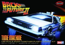 Maquette à thème : De Lorean Back to Future - 1/25 - Polar Lights 911