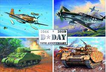Maquettes du D Day au 1:72 - set anniversaire Revell 3352