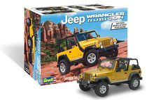 Maquette de voiture de collection : Jeep Wrangler Rubicon - 1/25 - Revell US 14501