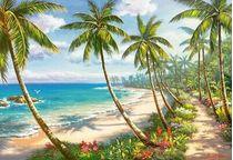Puzzle Paysage : Pathway to Paradise - 1000 pièces - Castorland 104666