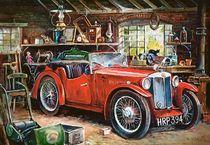 Puzzle Vintage Garage - 1000 pièces - Castorland 104574