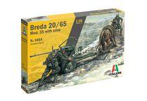 Figurines et artillerie militaire : Breda 20/65 Mod.35 - 1/35 - Italeri 06464