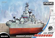 Maquette de bateau : Cuirassé USS Missouri BB-63 - 1/700 - Meng WB004 8131