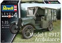 Maquette voiture militaire : Model T 1917 Ambulance - 1/35 - Revell 3285 03285