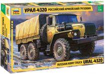 Maquette militaire : Camion Militaire Russe Ural 4320 - 1/35 - Zvezda 3654