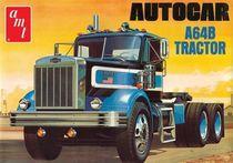 Maquette camion :AUTOCAR A64B TRACTOR Echelle 1/25 AMT 1099