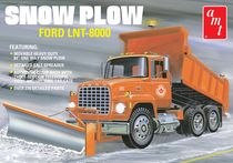 Maquette camion Ford LNT-8000 Snow Plow 1/25 - AMT 96A1178