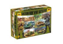 Maquette militaire : Set de Combat Front Est 2e Guerre Mondiale - 1/72 - Zvezda 05203 5203