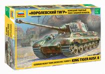 Maquette militaire : Kingtiger Henschel - 1/35 - Zvezda 03601 3601