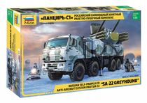 "Maquette militaire : Pantsir-S1 ""SA-22 Greyhound"" - 1/35 - Zvezda 03698 3698 - france-maquette.fr"
