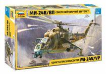Maquette d'hélicoptère militaire : Mil Mi-24V/VP - 1/48 - Zvezda 04823 4823