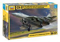 Maquette d'avion militaire : Sukhoï SU-57 Felon - 1/48 - Zvezda 04824 4824