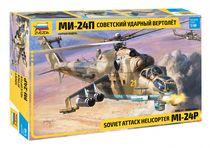 Maquette d'hélicoptère militaire : Mil Mi-24P Hind F - 1/48 - Zvezda 04812 4812
