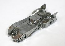 Maquette métal Batmobile 1989 - kit métal à monter