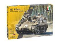 Maquette militaire : M7 Priest Gun Motor Carriage - 1:35 - Italeri 06580 6580
