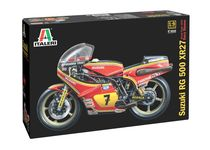 Maquette de moto : Suzuki RG500 Team Heron - 1:9 - Italeri 4644 04644