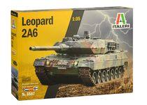 Maquette véhicule militaire : Leopard 2A6 - 1:35 - Italeri 06567 6567