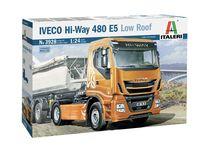 Maquette camion : Iveco hi-way 480 e5 - 1:24 - Italeri 03928 3928 - france-maquette.fr