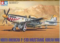 Maquette avion militaire : F 51D Mustang Korean War - 1/48 - Tamiya 61044