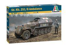 Maquette militaire : Sd.Kfz.251/8 Ambulance - 1:72 - Italeri 07077 7077