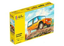 Maquette voiture de collection : Citroën Mehari - 1/24 - Heller 80760
