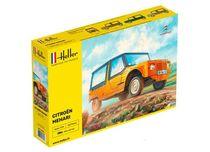 Maquette voiture de collection : Citroën Mehari - 1/24 - Heller 80760